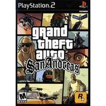 Gta San Andreas Grand Theft Auto Ps2 Patch Frete Unico
