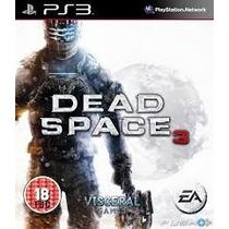 Ps3 - Dead Space 3 - Midia Fisica - Novo Lacrado