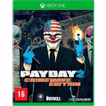 Payday 2 Crimewave Edition - Jogo Xbox One Midia Fisica