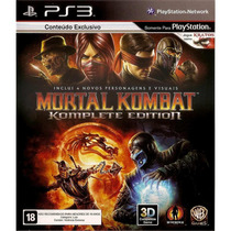 Mortal Kombat Komplete Edition (legendas Pt-br) { Ps3 }
