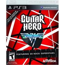 Ps3 - Guitar Hero Van Halen - Midia Fisica - Semi Novo