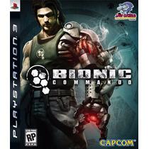 Jogo Ps3 - Bionic Commando - Usado