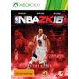 Jogo Lacrado Novo Esporte Basquete Nba 2k16 Para Xbox 360