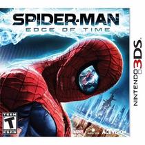 Jogo Game Nintendo 3ds Spider-man Edge Of Time - Impecável