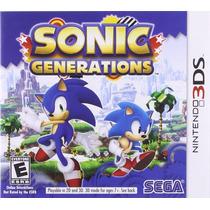 Nintendo 3ds - Sonic Generations Novo E Lacrado