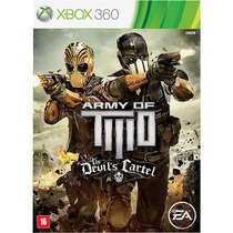 Army Of Two: The Devils Cartel Br - Xbox360 - Lacrado