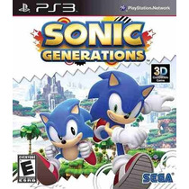 Sonic Generations Ps3 Código Psn Receba Hoje