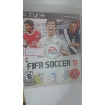 Fifa Soccer 11 Semi Novo Completo 100% Funcional Para Ps3
