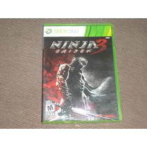 Ninja Gaiden 3 ( Jogo Original Xbox360 Mídia Física )