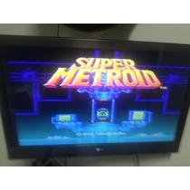 Fita - Cartucho Super Metroid - Super Nintendo Snes - Leia!