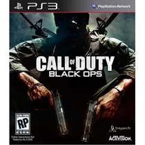 Call Of Duty Black Ops - Ps3 - Novo Lacrado