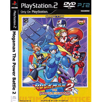 Megaman Power Battle 2 - Playstation 2 - Ps2 Frete Gratis.