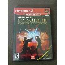 Star Wars Episode 3 Revenge Of The Sith ( Original Ps2 )