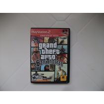 Gta Grand Theft Auto San Andreas Ps2 Original