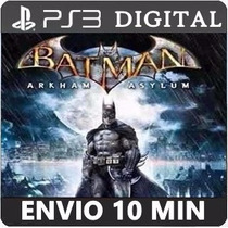Batman Arkham Asylum Ps3 Psn Play3 Mídia Digital