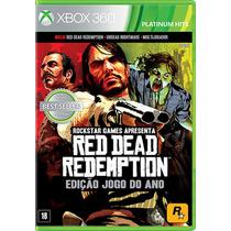 Red Dead Redemption * Goty * - Xbox 360 - S. G.