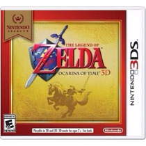 The Legend Of Zelda Ocarina Of Time 3d Nintendo 3ds Lacrado
