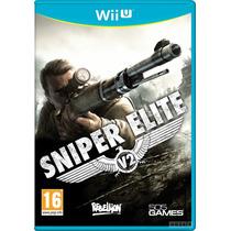 Jogo Game Sniper Elite V2 Wii U Nintendo Lacrado Original
