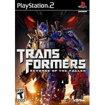 Transformers Revenge Of The Fallen Ps2 Patch