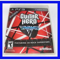 Guitar Hero Van Halen Ps3 Playstation Lacrado Original