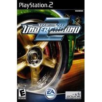 Jogos Ps2 - Need For Speed - Underground 2
