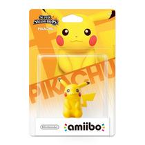 Amiibo Pikachu Super Smash Bros New Nintendo 3ds E Wii U