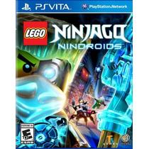 Jogo Lego Ninjago Nindroids Ps Vita Playstation Vita Lacrado