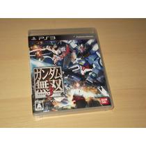 Ps3 - Dynasty Warriors Gundam 3 (japonês)
