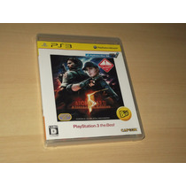 Ps3 - Bio Hazard 5 Alternative Edition ( Resident Evil )