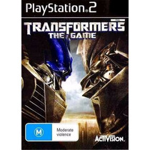 Jogo Ps2 - Transformers - The Game
