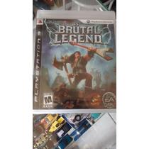 Jogo Playstation 3 Ps3 Brutal Legends