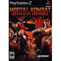 Mortal Kombat Shaolin Monks Ps2 Patch + 2 De Brinde