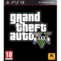 Gta 5 - Gta V - Grand Theft Auto V 5 Psn Ps3
