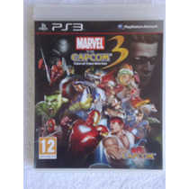 Marvel Vs Capcom 3 Ps3 Midia Fisica Envio Imedia