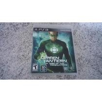 Green Lantern Rise Of The Manhunters Ps3 - Lanterna Verde