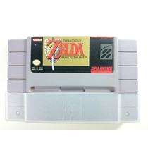 Cartucho Super Nintendo - Zelda A Link To The Past C\sleeve