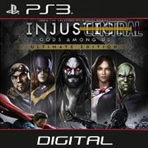 Injustice Gods Among Us Ultimate Ps3 Psn Digital