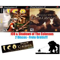 Ico & Shadow Of The Colossus - Playstation 2 - Frete Gratis