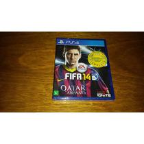 Fifa 14 Mídia Física Playstation 4 Ps4 Game Jogo Soccer 2014