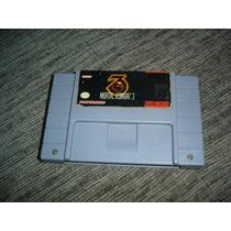 Snes Super Nintendo Mortal Kombat 3 Original