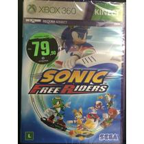 Sonic Free Riders Para Xbox 360 Novo Lacrado