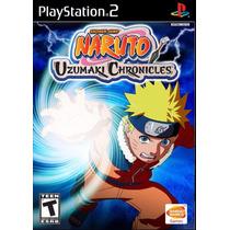 Patch Naruto Uzumaki Chronicles 1 Ps2 Frete Gratis