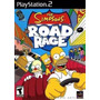 Jogo Ps2 - The Simpsons - Road Rage