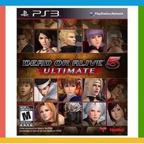 Dead Or Alive 5 Ultimate Ps3 - Novo / Lacrado