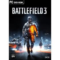 Jogo Battlefield 3 Pc Original Lacrado Bf3 Frete Grátis
