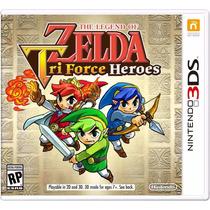 The Legend Of Zelda Tri-force Heroes 3ds Pronta Entrega
