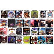 10 Jogos Dreamcast Sonic Resident Shenmue Sega Marvel Capcom