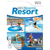 Jogo Wii Sports Resort Com Wii Motion Plus Para Nintendo Wii