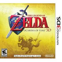 Zelda Ocarina Of Time 3d Nintendo 3ds