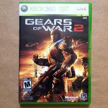 Gears Of War 2, Xbox 360. Jogo Americano Original Completo!